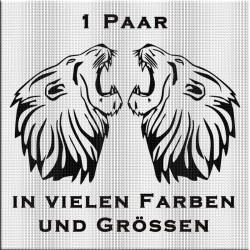 MAN böser Löwe - 1 Paar.  Jetzt gleich bestellen! ✅