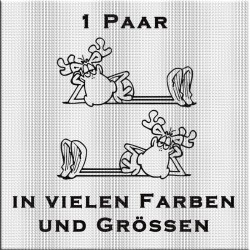 1 Paar - Lustiger Elch. Jetzt bestellen! ✅