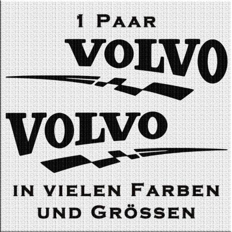 Volvo Spezial - Aufkleber Paar. Jetzt bestellen!✅