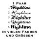 Highline Aufkleber 1 Paar. Jetzt bestellen!✅