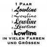 Lowline Aufkleber 1 Paar. Jetzt bestellen!✅