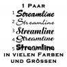 Streamline Aufkleber 1 Paar. Jetzt bestellen!✅