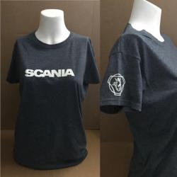 Damenshirt Scania mit Elch What else. Jetzt bestellen!✅