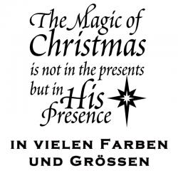 Weihnachten Aufkleber Spruch Variante 2. Jetzt bestellen!✅