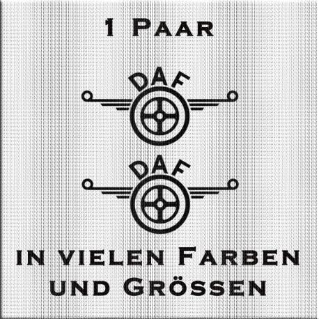 meinsticker.com - DAF Logo - Aufkleber. Jetzt bestellen! ✅