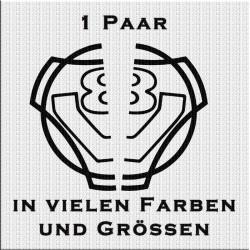 Scania Vabis V8 Aufkleber Paar halb. Jetzt bestellen!✅