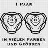 Scania Vabis V8 Aufkleber Paar. Jetzt bestellen!✅