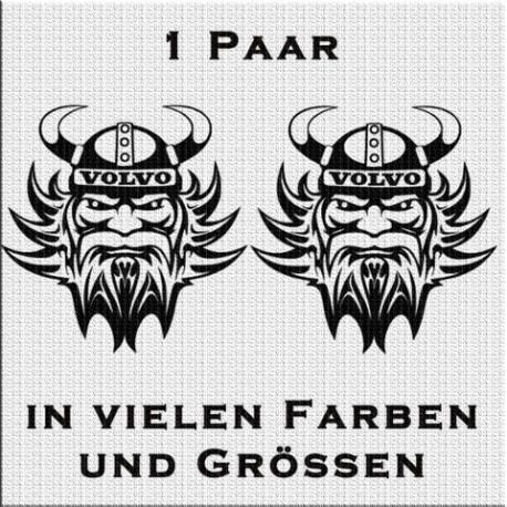 Wikinger Volvo Aufkleber Paar. Jetzt bestellen!✅