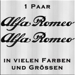 Alfa Romeo Aufkleber. Jetzt bestellen! ✅