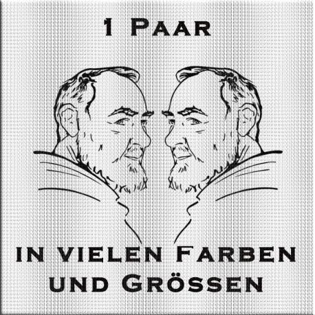 Pater Pio Aufkleber Paar. Jetzt bestellen! ✅
