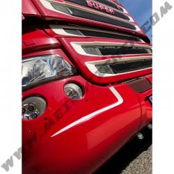 1 Paar Zacken-Kontur Aufkleber für Scania Stoßstange R-Serie