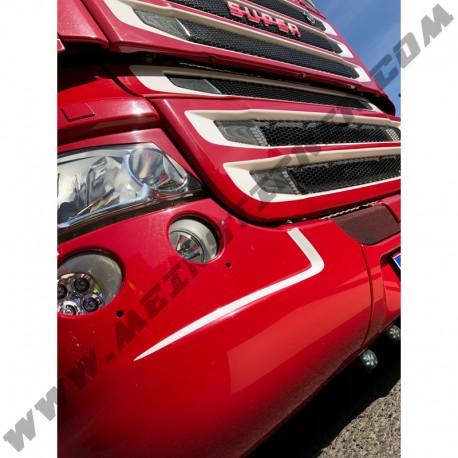 Zacken-Kontur Aufkleber für Scania R-Serie. Jetzt bestellen! ✅