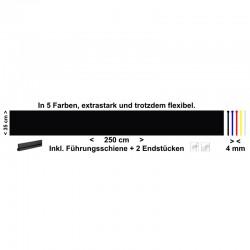 LKW Schmutzfänger-Heckschürze neutral 250 cm