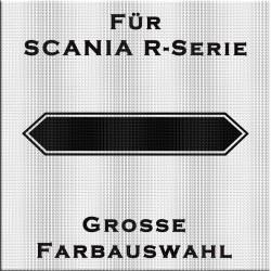 Hintergrund für Scania Schriftzug am Frontgrill