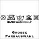 Hand wash only! Jetzt bestellen! ✅