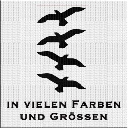Vögel 4 stück Fensterschutz. Jetzt bestellen! ✅