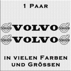 Volvo mit Logo Aufkleber 1 Paar. Jetzt bestellen!✅