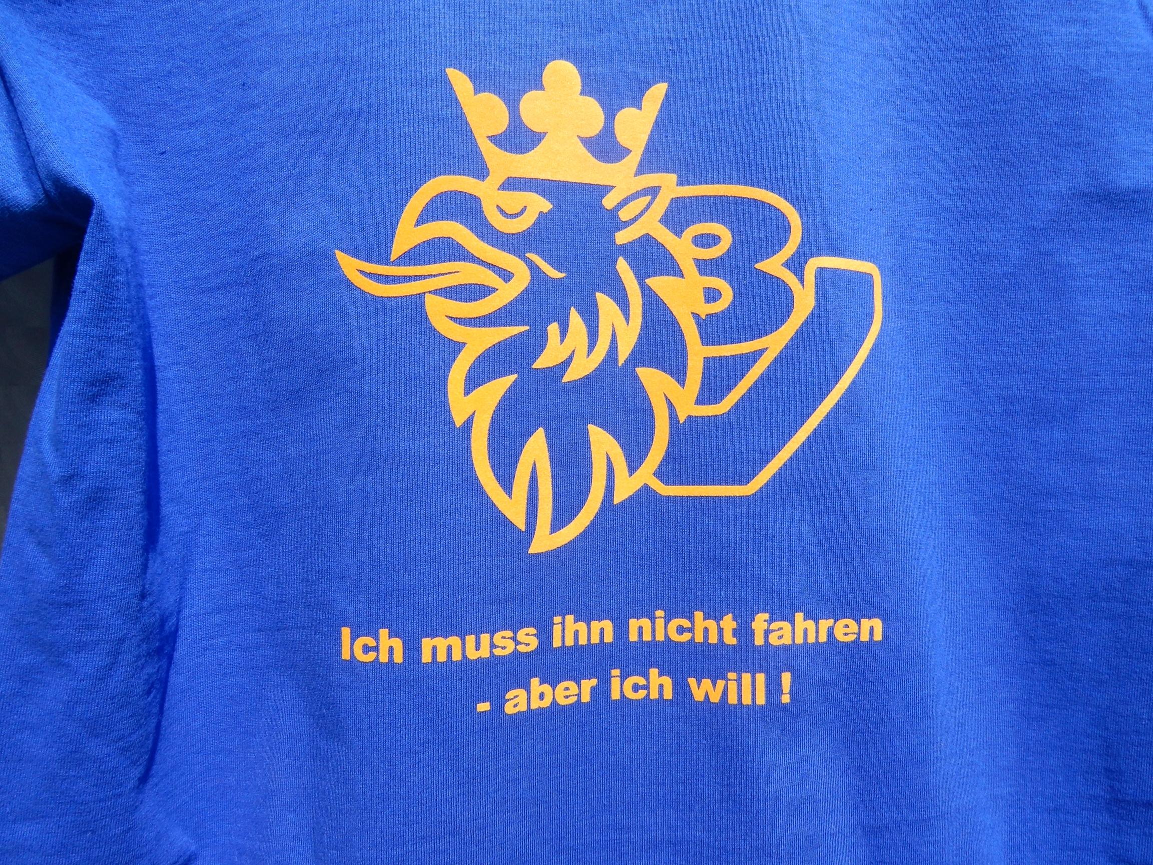 Auf Kundenwunsch angefertigtes T-Shirt für SCANIA Fan´s ;-)