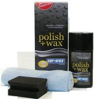 car-wax™ Polish und Wax bedeutet komplette Lackaufbereitung in nur einem Arbeitsgang. Jetzt mit gratis Auftrageschwamm und Lackpflegetuch.