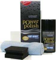 Car Wax Power Polish Set bei meinsticker.com.  Jetzt mit gratis Auftrageschwamm und Poliertuch.